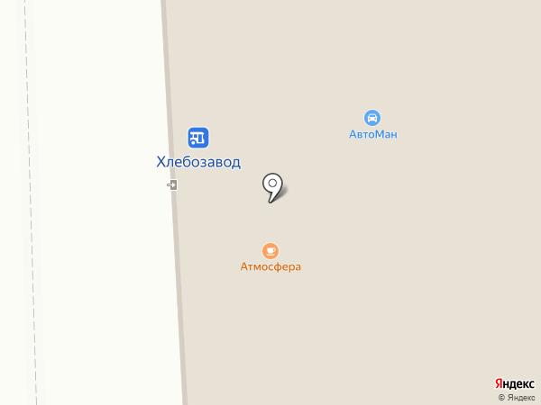 Автоман на карте Норильска