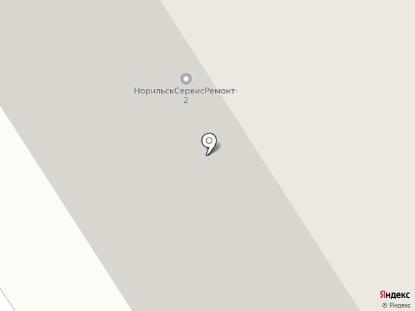 Неизвестный Норильск на карте Норильска