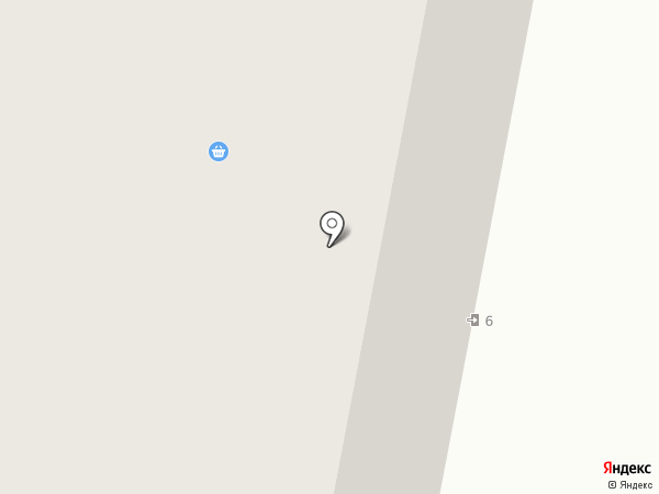 Союз архитекторов на карте Норильска