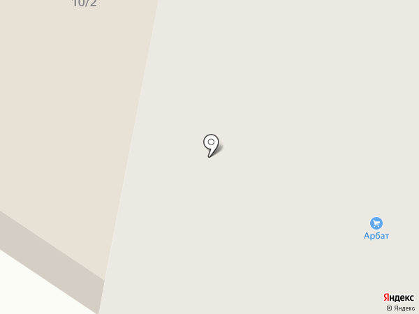 Арбат на карте Норильска