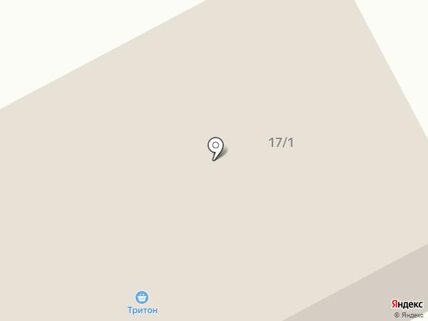 Тритон на карте Норильска