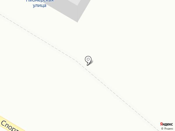 Продуктовый магазин на Спортивной на карте Норильска