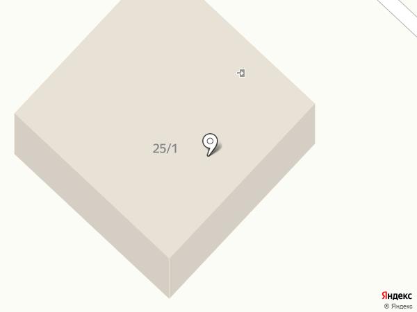 Окраина на карте Норильска