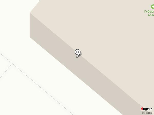 Vintage на карте Норильска