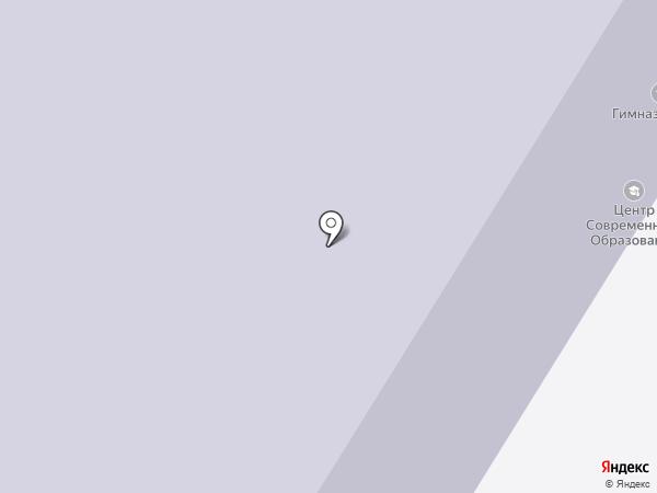 Гимназия №48 на карте Норильска