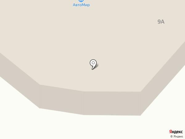 Глобус на карте Норильска