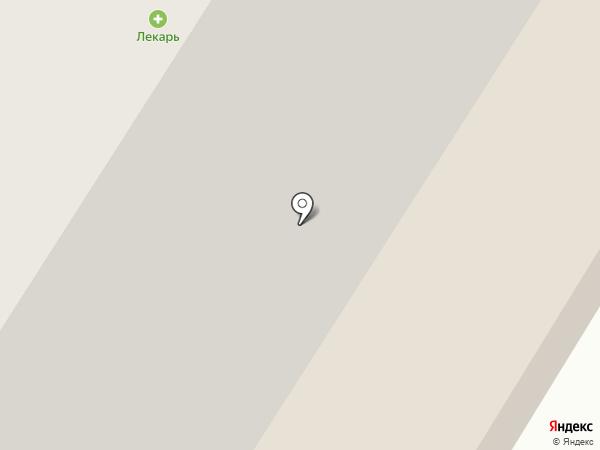 Вертикаль на карте Норильска