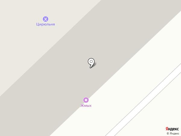 Сытый папа на карте Норильска