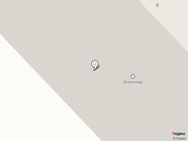 Атлантида на карте Норильска