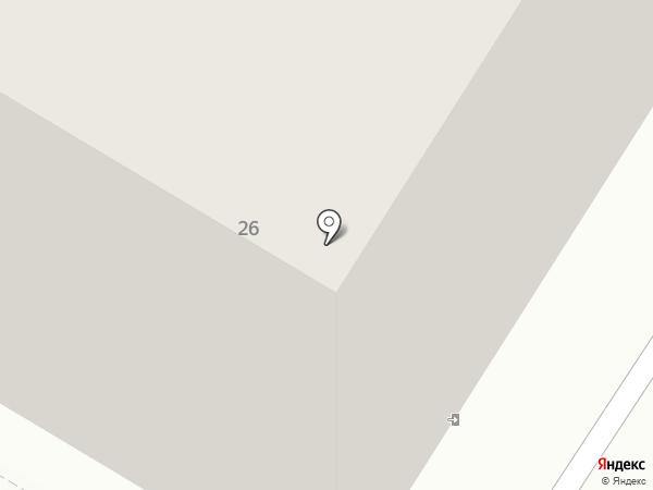 Почтовое отделение №30 на карте Норильска