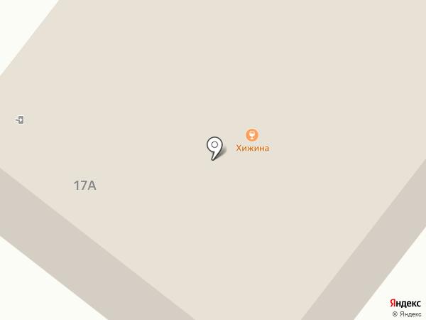 Хижина на карте Норильска