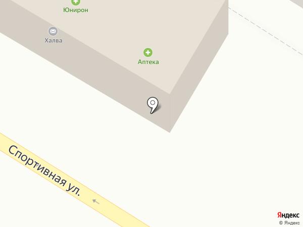 Юнирон на карте Норильска