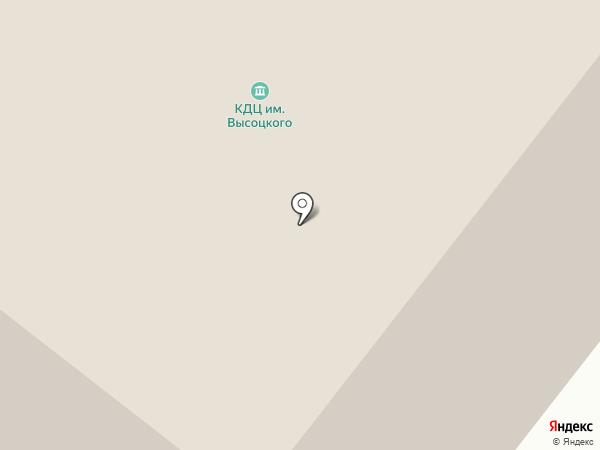 Культурно-досуговый центр им. В.С. Высоцкого на карте Норильска