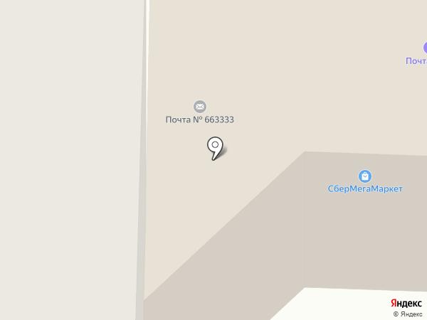 Почтовое отделение №33 на карте Норильска