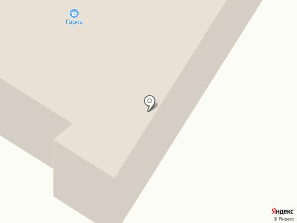 Горка, продуктовый магазин на карте Норильска