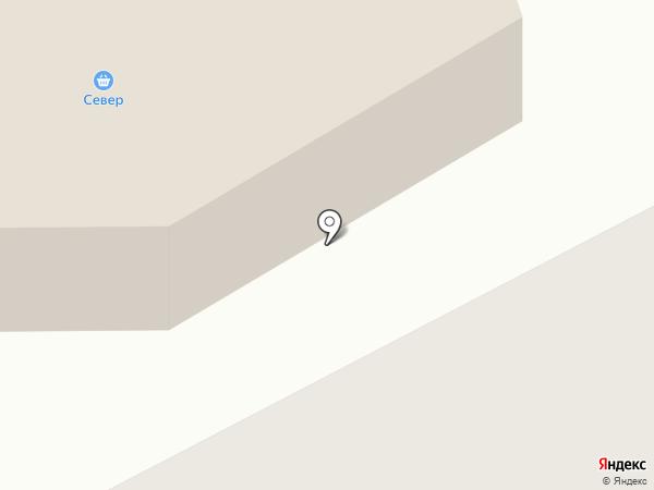 Север на карте Норильска