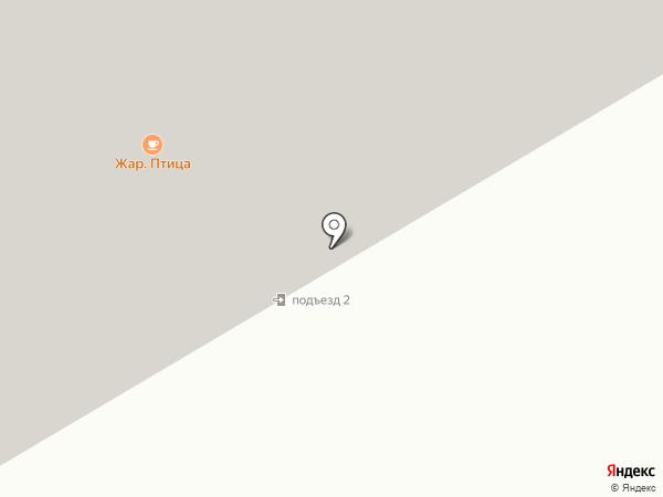 Корвет на карте Норильска