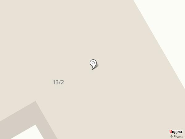 Лама на карте Норильска