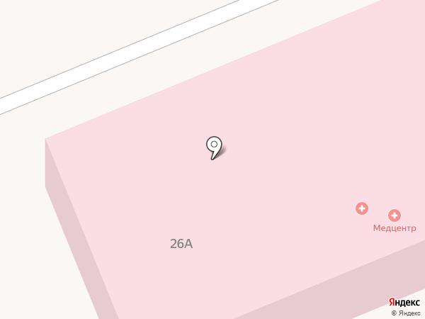 Городская больница №1 на карте Черногорска