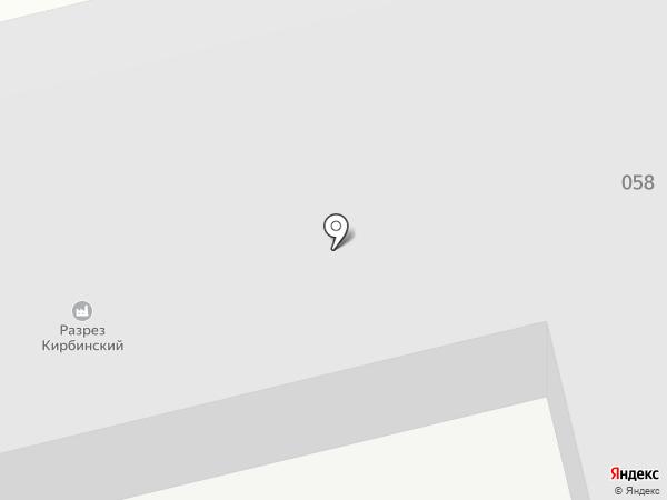 Разрез Степной на карте Черногорска