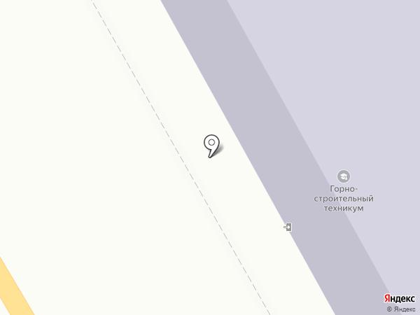 Черногорский горно-строительный техникум на карте Черногорска