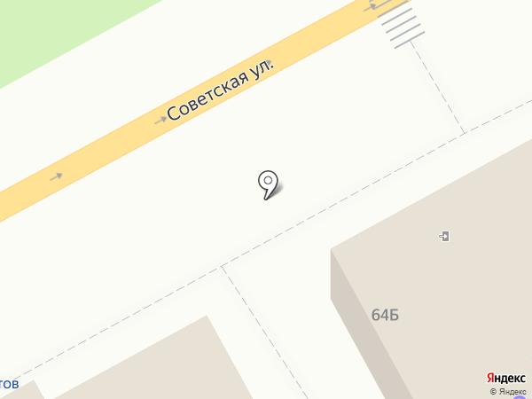 Компас на карте Черногорска