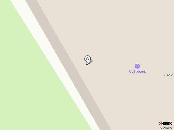 Боулинг-центр на ул. Дзержинского на карте Черногорска
