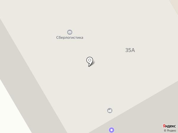 Хакасский ТЭК на карте Черногорска