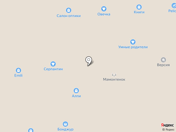 Vintage на карте Черногорска