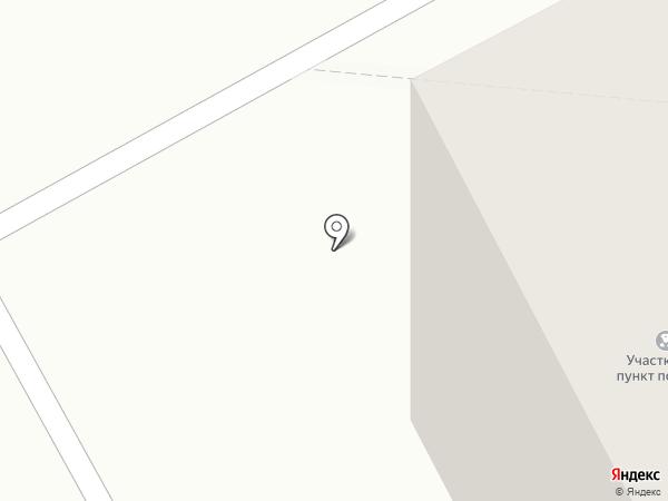 Участковый пункт полиции №1 на карте Черногорска