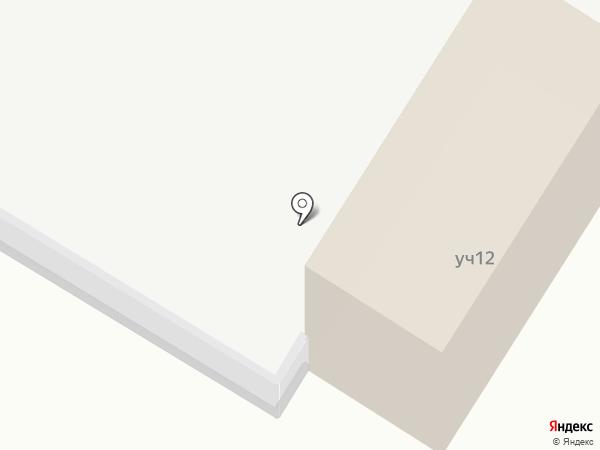Ветеринарный участок на карте Тепличного