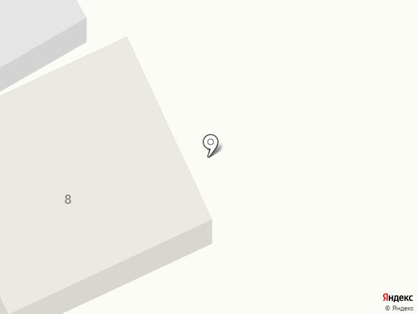 Атташе на карте Абакана