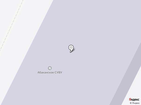 Абаканское специальное учебно-воспитательное учреждение для обучающихся с девиантным (общественно-опасным) поведением открытого типа на карте Абакана