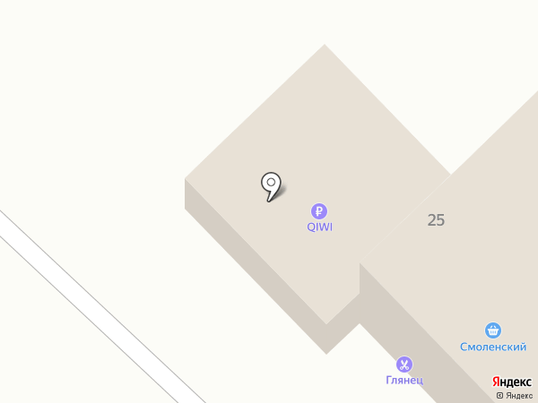 Магазин канцелярских товаров на карте Абакана