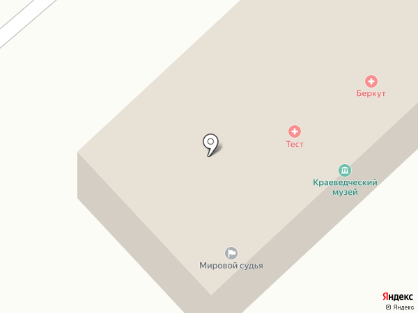 Беркут на карте Белого Яра
