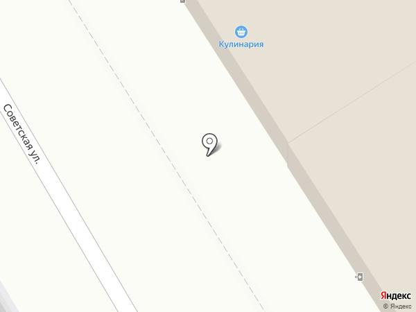 Березка на карте Белого Яра