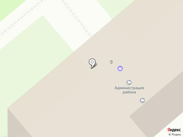 УФК на карте Белого Яра