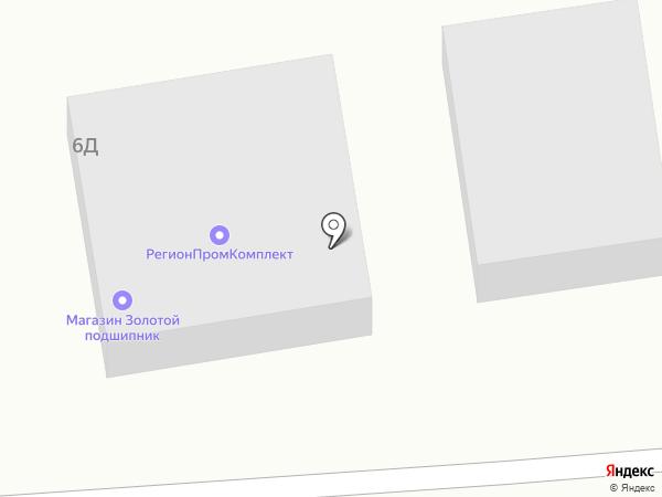 Золотой подшипник на карте Абакана
