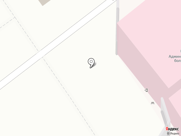 Белоярская центральная районная больница на карте Белого Яра