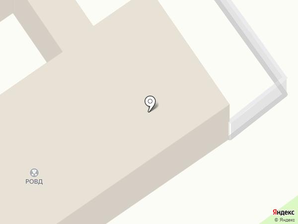 Участковый пункт полиции на карте Белого Яра