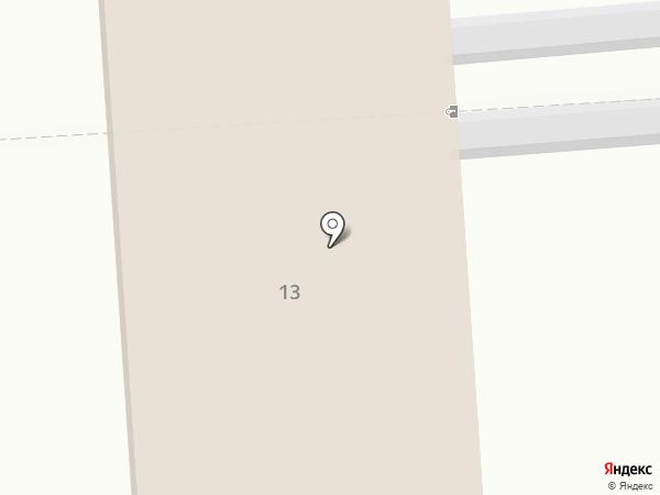 Исправительная колония №28 на карте Усть-Абакана