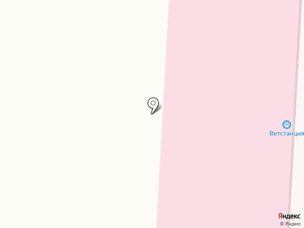 Усть-Абаканская ветеринарная станция на карте Усть-Абакана
