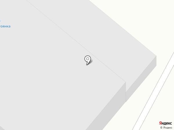 ТРАЛ на карте Абакана