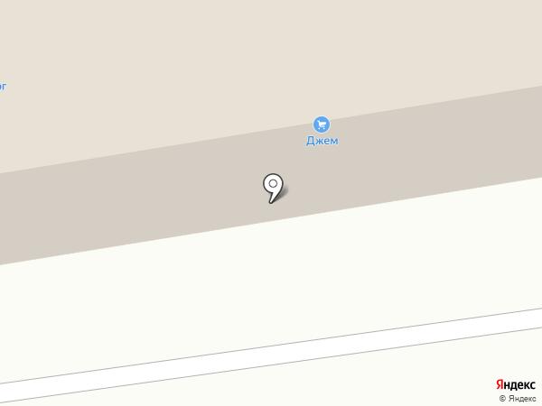 Джем на карте Абакана