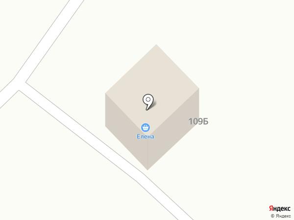 Елена на карте Калинино