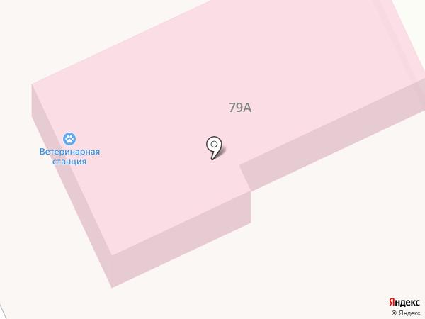 Алтайская ветеринарная станция на карте Белого Яра