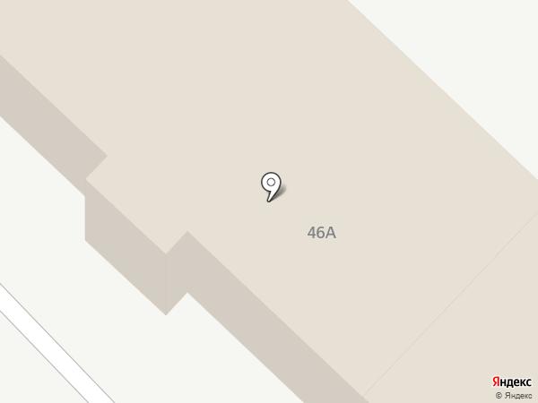 Поршень на карте Абакана