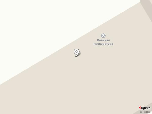 Военная прокуратура Абаканского гарнизона на карте Абакана