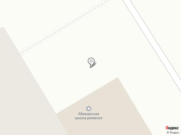 Школьник19.рф на карте Абакана