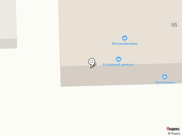 Автокомплекс на карте Калинино